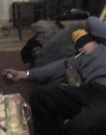 Zasnął z papierosem