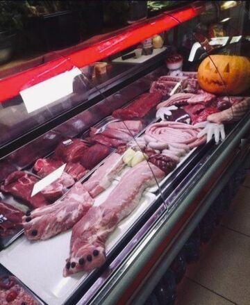 Halloween na mięsnym