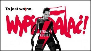 Strajk kobiet - plakat