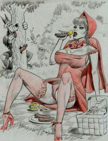 Czerwony kapturek 114