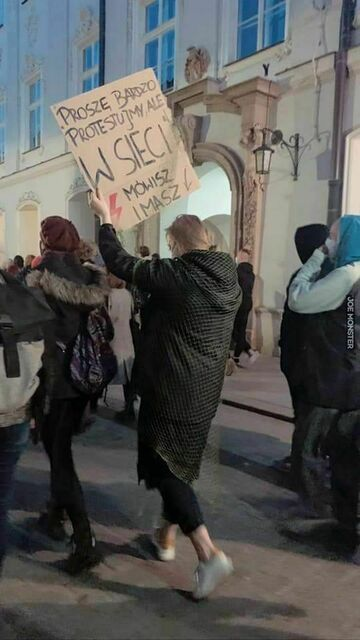 Protest w sieci