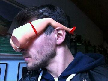 Fajowe oprawki do okularów