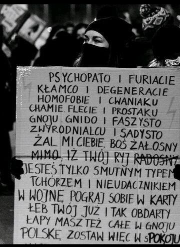 Psychopato i furiacie ...