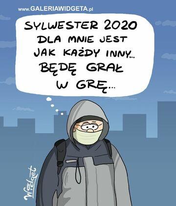 Sylwester 2020 jak kazdy inny