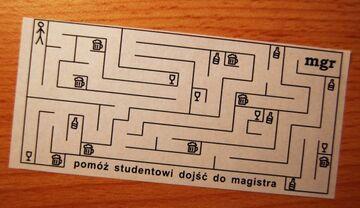 pomóż studentowi dojść do magistra