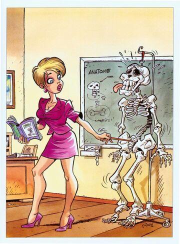 Radosny szkielet