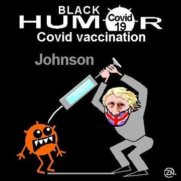 johnson covid cartoon humor