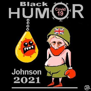 Johnson Covid 2021 satire