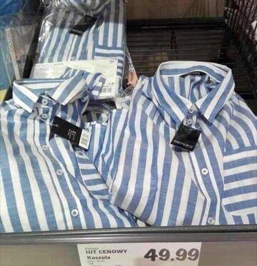 Koszule w niemieckiej sieci sklepów Lild
