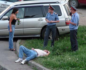 W Rosji na trawie