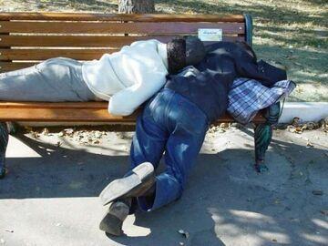 Na ławeczce w parku