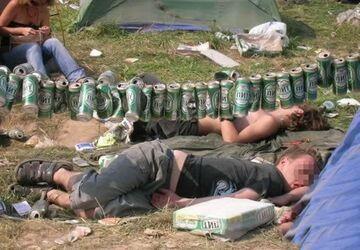 Gdzieś na polu namiotowym