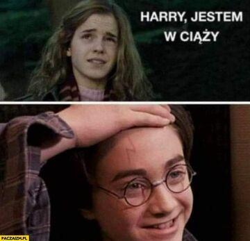 Harry, jestem w ciąży