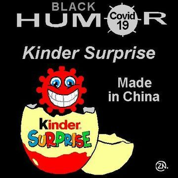 Kinder Surprise made in China humor