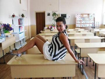 Nauczycielka w podstawówce