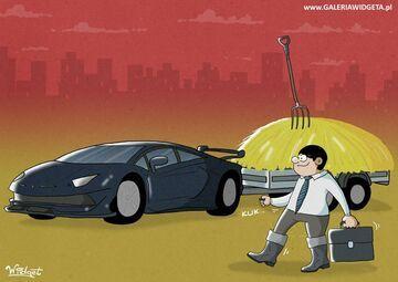 Koleś i samochód