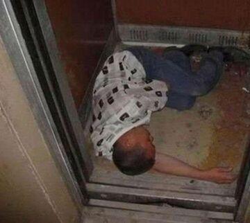 śpi w windzie