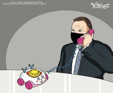 Telefon -zabawka