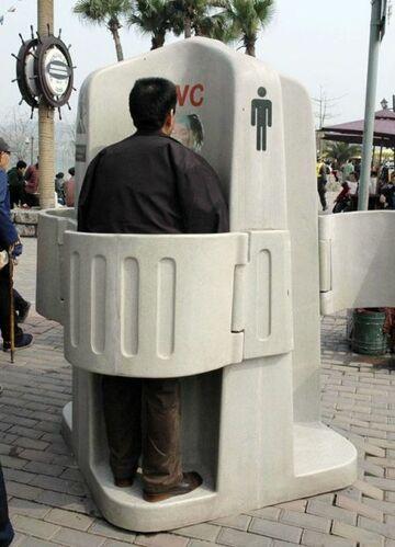 WC w centrum