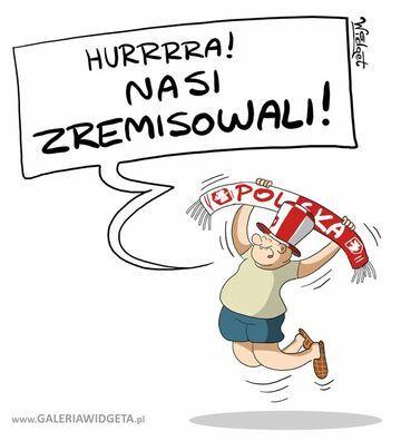 Polacy zremisowali