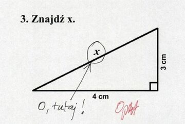 Szukanie X'a
