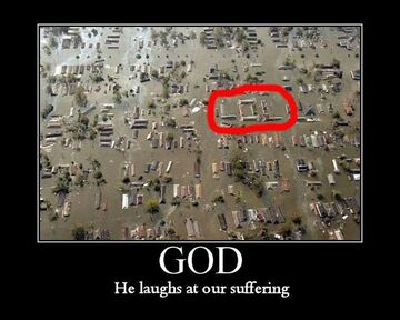 LOL - GOD He laughs at our suffering