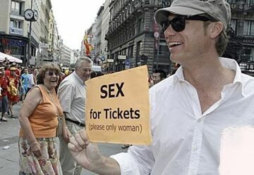 Sex for Tickets