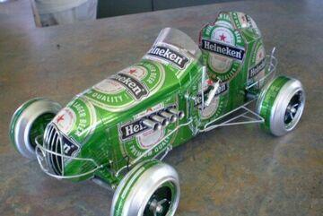 Heineken car