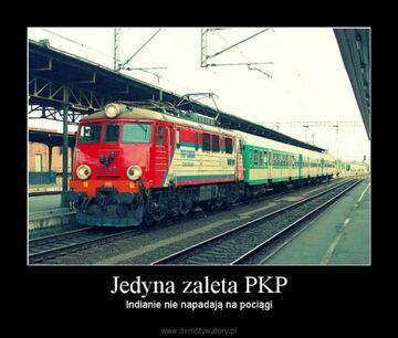 Jedyna zaleta PKP