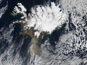 Erupcja wulkanu Eyjafjoll