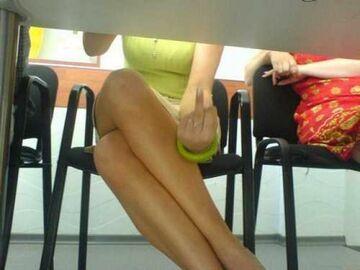 Fota z pod stolika