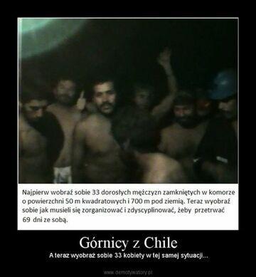 Górnicy z Chile