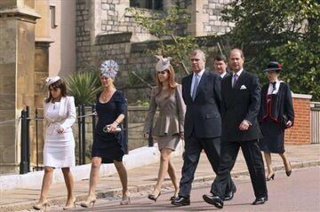 Rodzinka Williama idzie do kościoła