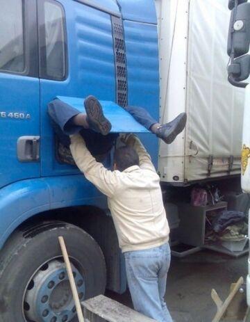 Narodziny kierowcy ciężarówki