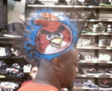 Fryzura AngryBirds