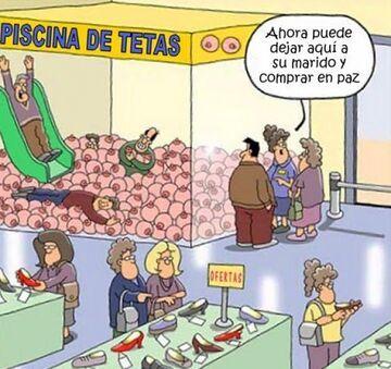 PISCINA DE TETAS