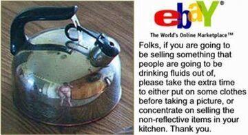 Czajnik na eBay'u