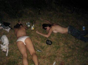 Takie tam, na trawie