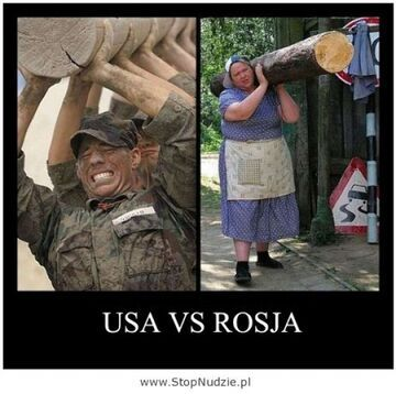 USA Vs. Rosja