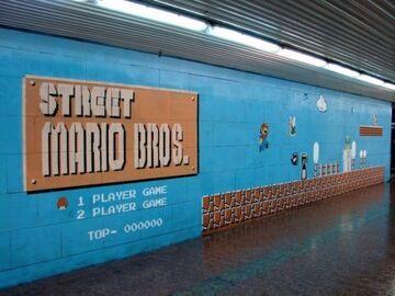 Mario Bros Graffiti