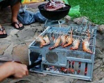 Komputerowy grill