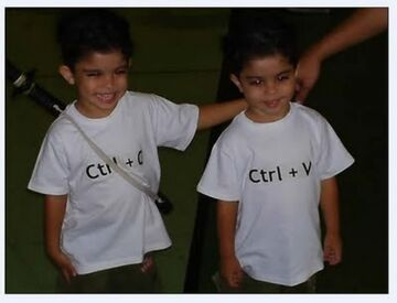 CTRL+C & CTRL+V