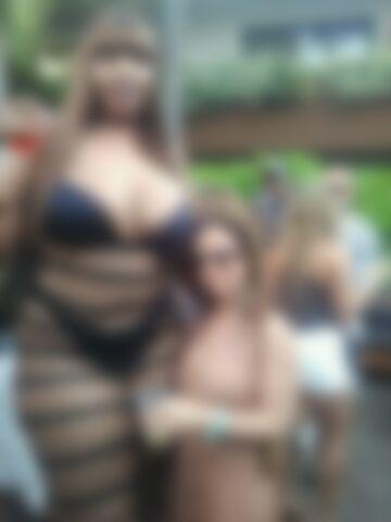 Bardzo duża kobieta ;)