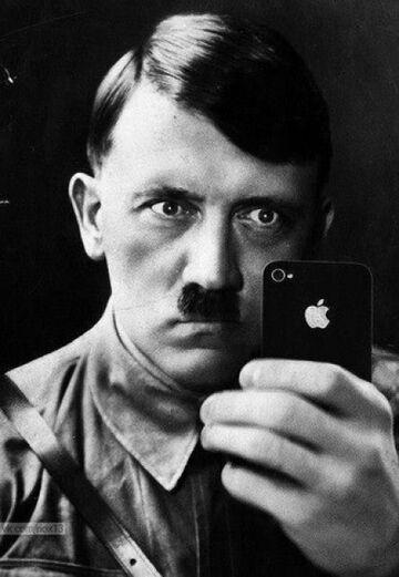 Hitler's iPhone