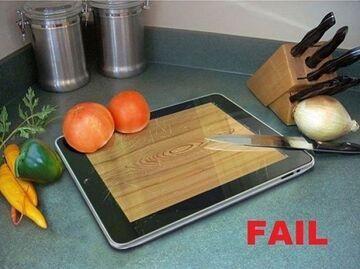 iPad - Aplikacja do krojenia