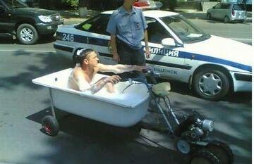 Prawo jazdy i dowód rejestracyjny proszę