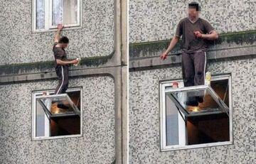 Mycie okien - poziom hard