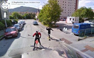 Nurkowie z Google Maps