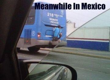 Gapowicz w Meksyku