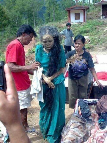 Kobieta zombi